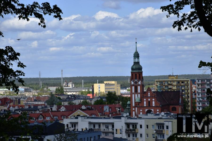 Punkt widokowy w Bydgoszczy