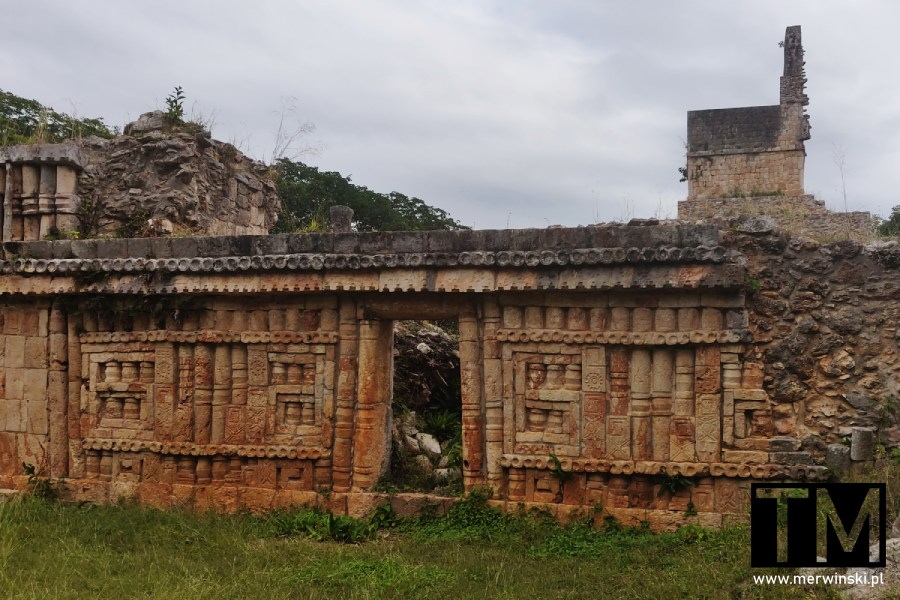 Ruina majów na Jukatanie