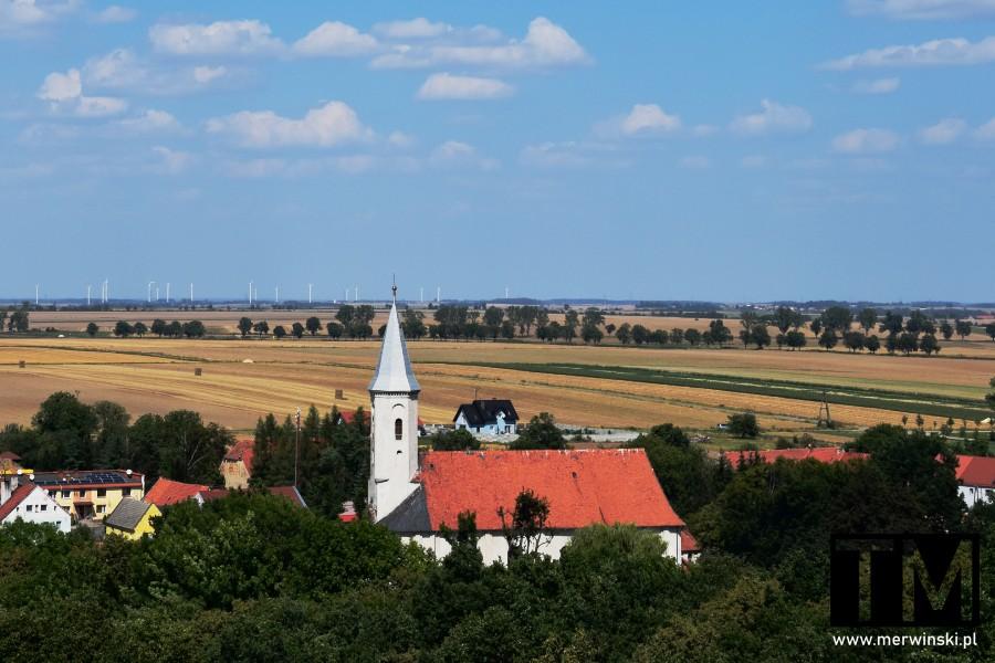 Kościół Nawiedzenia NMP w Mściwojowie na Dolnym Śląsku
