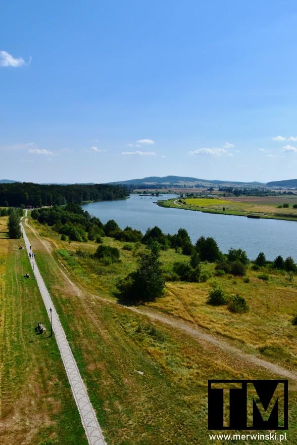 Zbiornik wodny w Mściwojowie