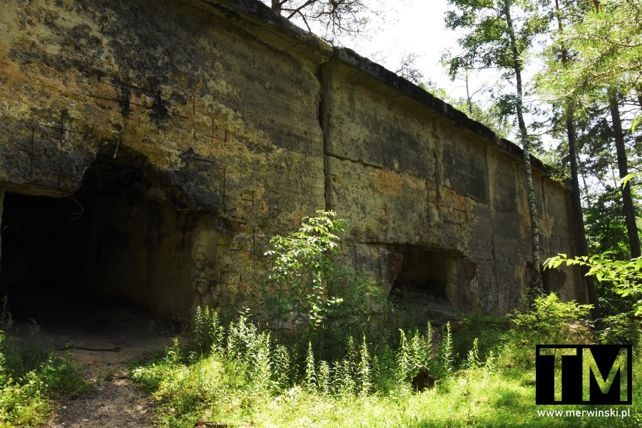 Stanowiska na haubice pod Jelczem-Laskowice