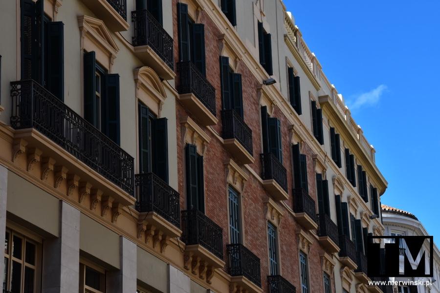 Elewacja budynku w Maladze