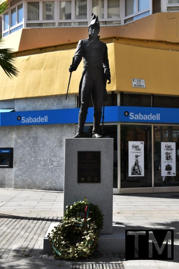 Rzeźba Theodora Redinga w Maladze