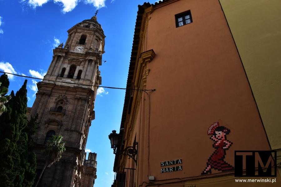Santa Maria i wieża katedry w Maladze