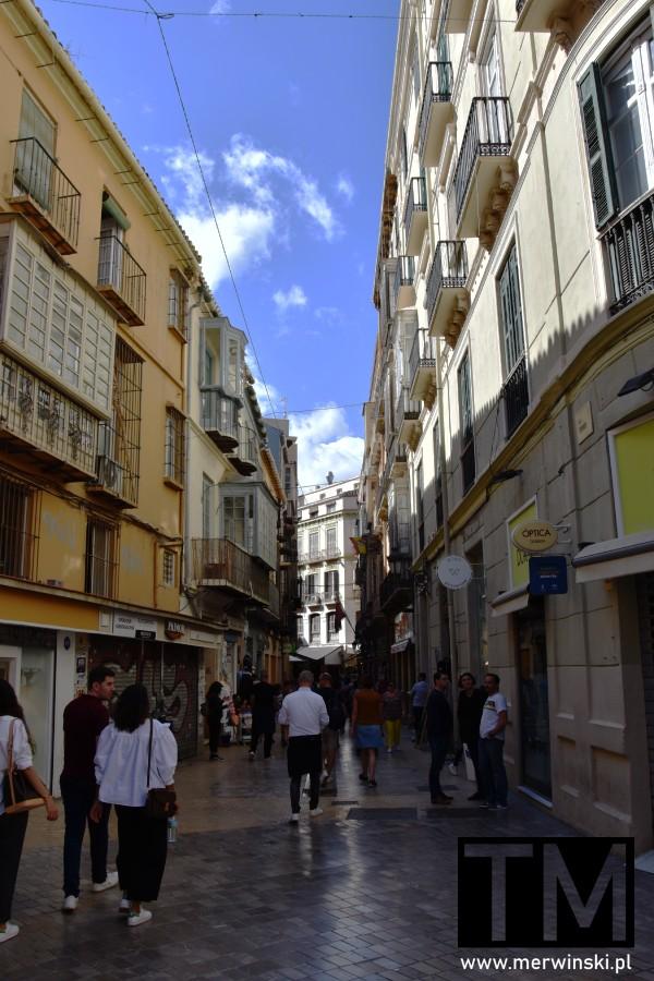 Wąska andaluzyjska uliczka