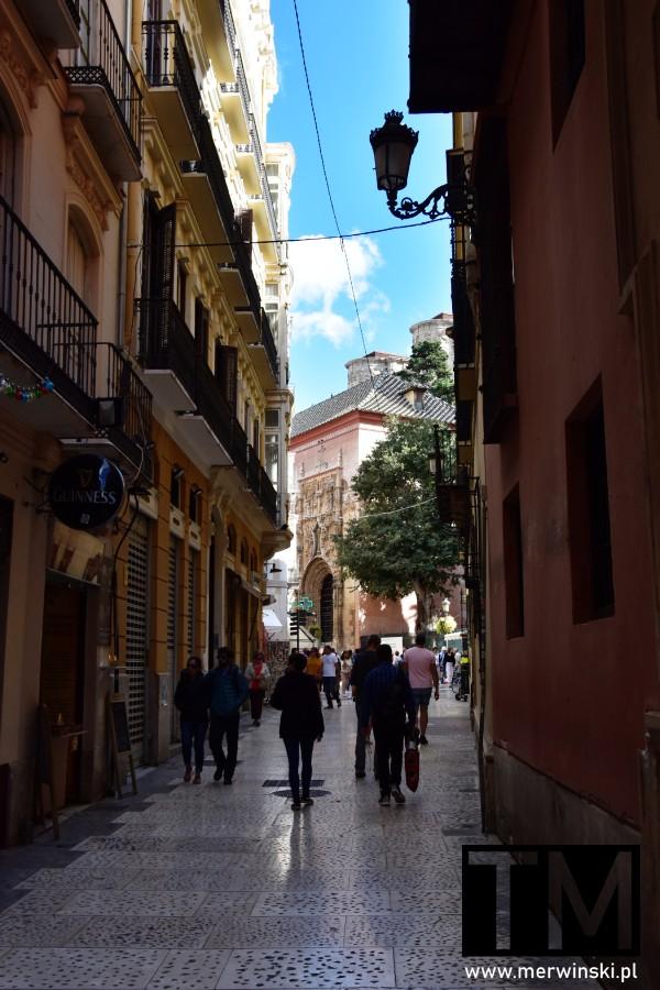 Wąska uliczka Malagi