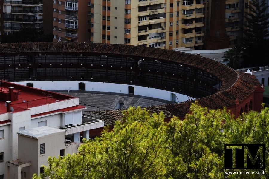 Trybuny areny byków w Andaluzji