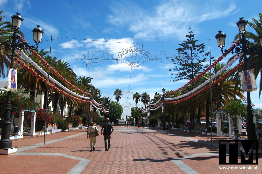 Paseo de la Ribera w Ayamonte