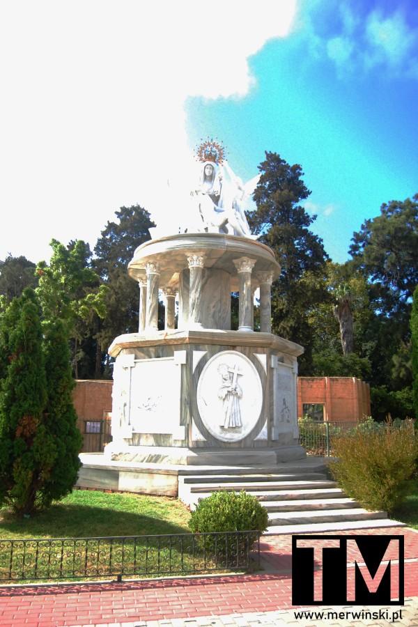 Plac Hiszpański w Ayamonte w Andaluzji