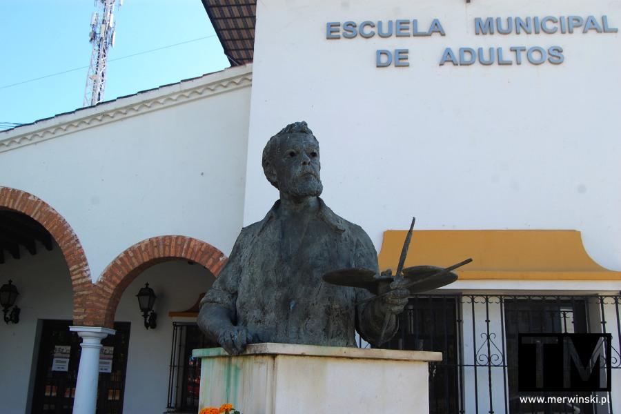 Pomnik Joaquín Sorolla y Bastida w Ayamonte