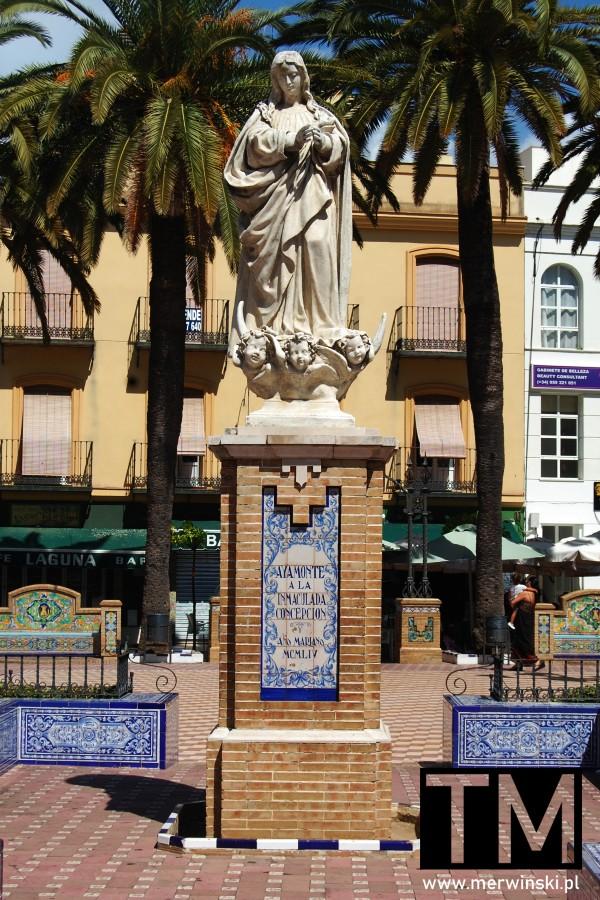 Pomnik Matki Boskiej w Ayamonte