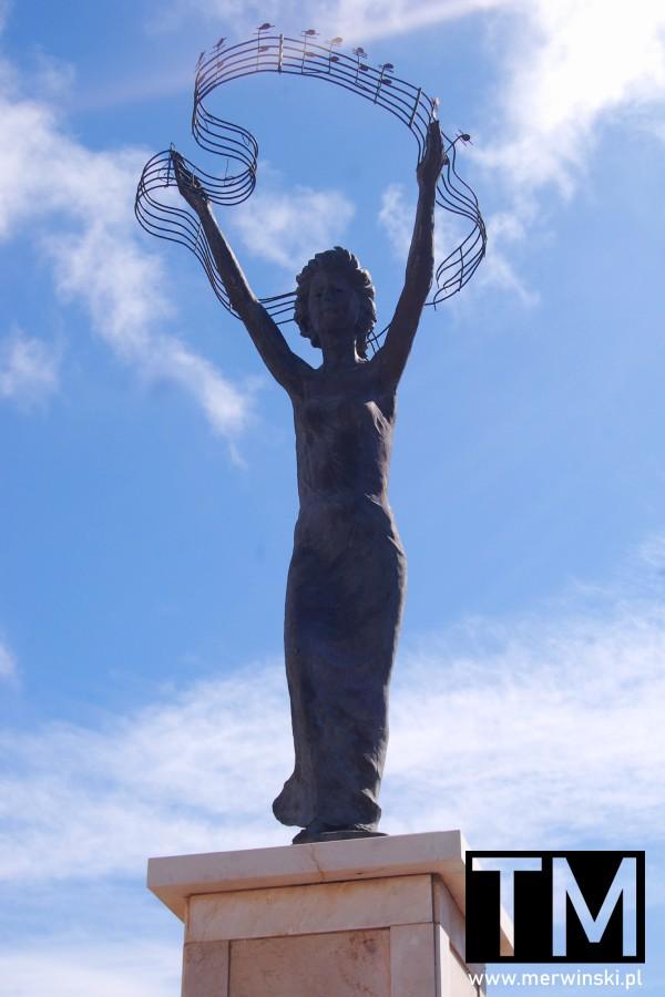 Muzyczna rzeźba w Ayamonte