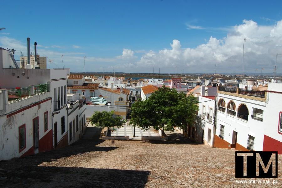 Widok na Ayamonte w Andaluzji