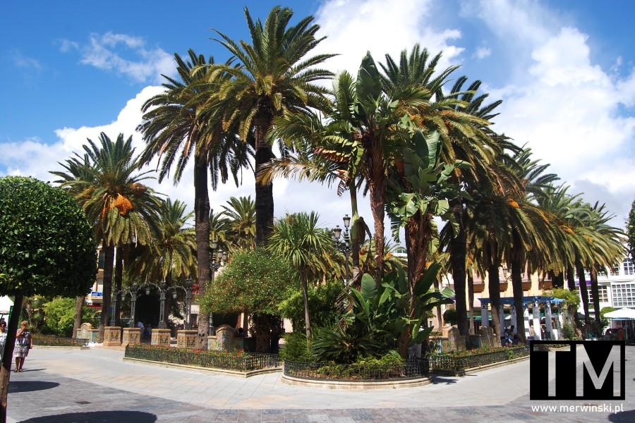 Plaza de la Laguna w Ayamonte