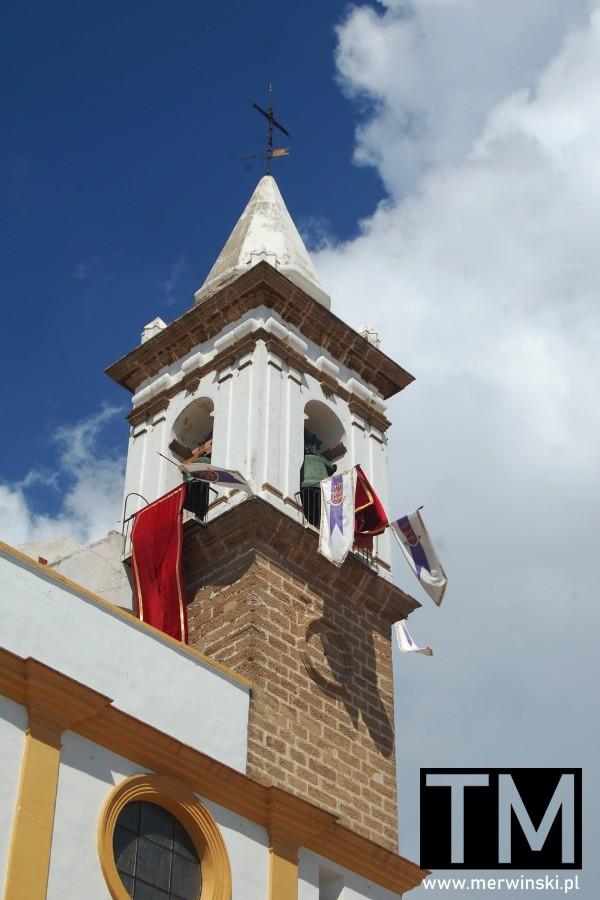 Wieża kościoła Nuestra Señora de las Angustias w Ayamonte