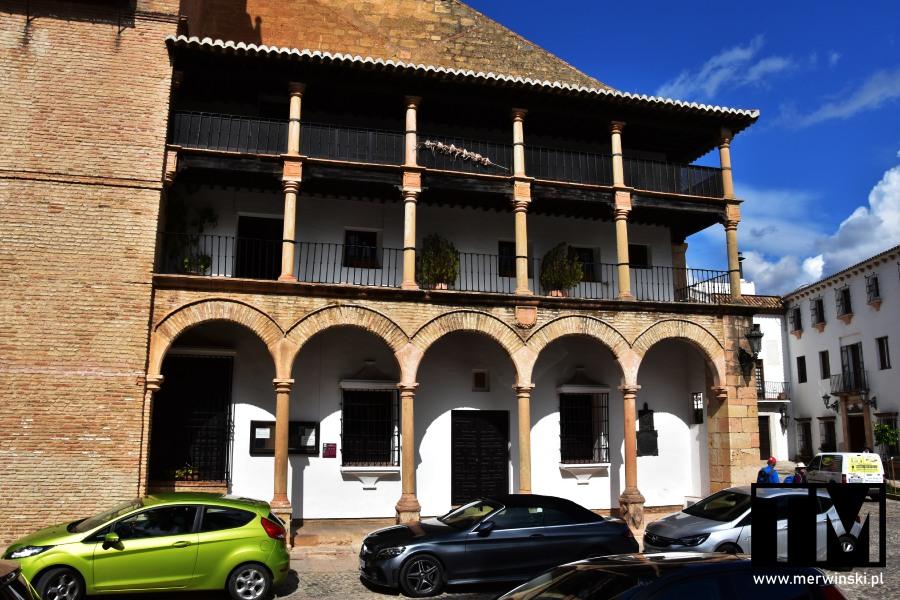 Arkady w kościele Santa María la Mayor w Rondzie