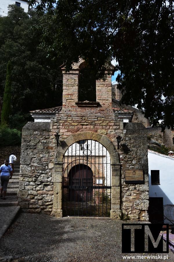 La Ermita de la Virgen de la Cabeza w Rondzie