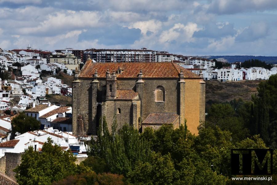 Ronda i kościółSanta María y del Espíritu Santo