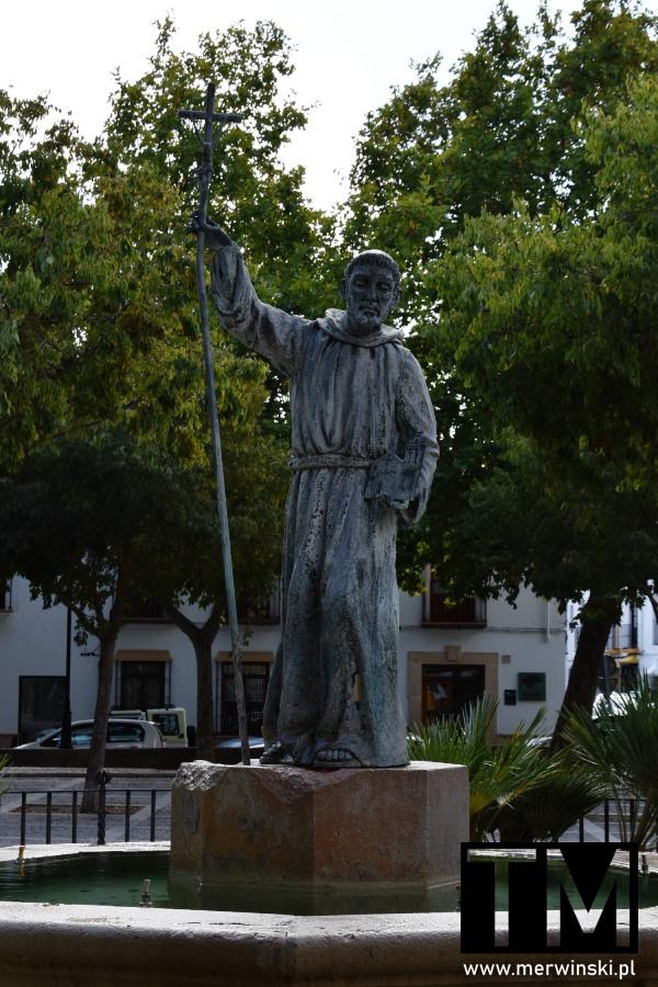 Pomnik San Francisco na Plaza Ruedo Alameda