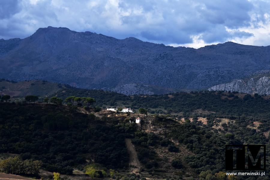 Sierra de Grazalema w Hiszpanii